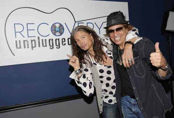 """Recovery Unplugged Treatment Center Video: Steven Tyler performs """"Amazing"""" at Recovery Unplugged"""