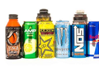 Popular Energy Drinks