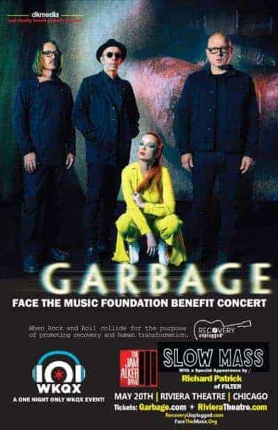 Face the Music Foundation Benefit Concert raises awareness and funds to support addiction treatment.