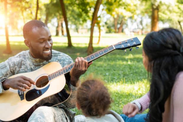 Music Can Help Veterans Health from Mental Health Issues