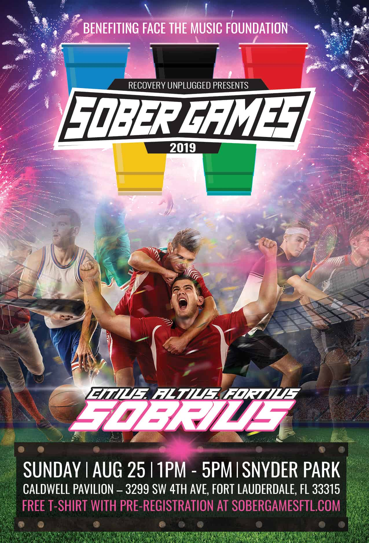 Recovery Unplugged Sober Games 2019