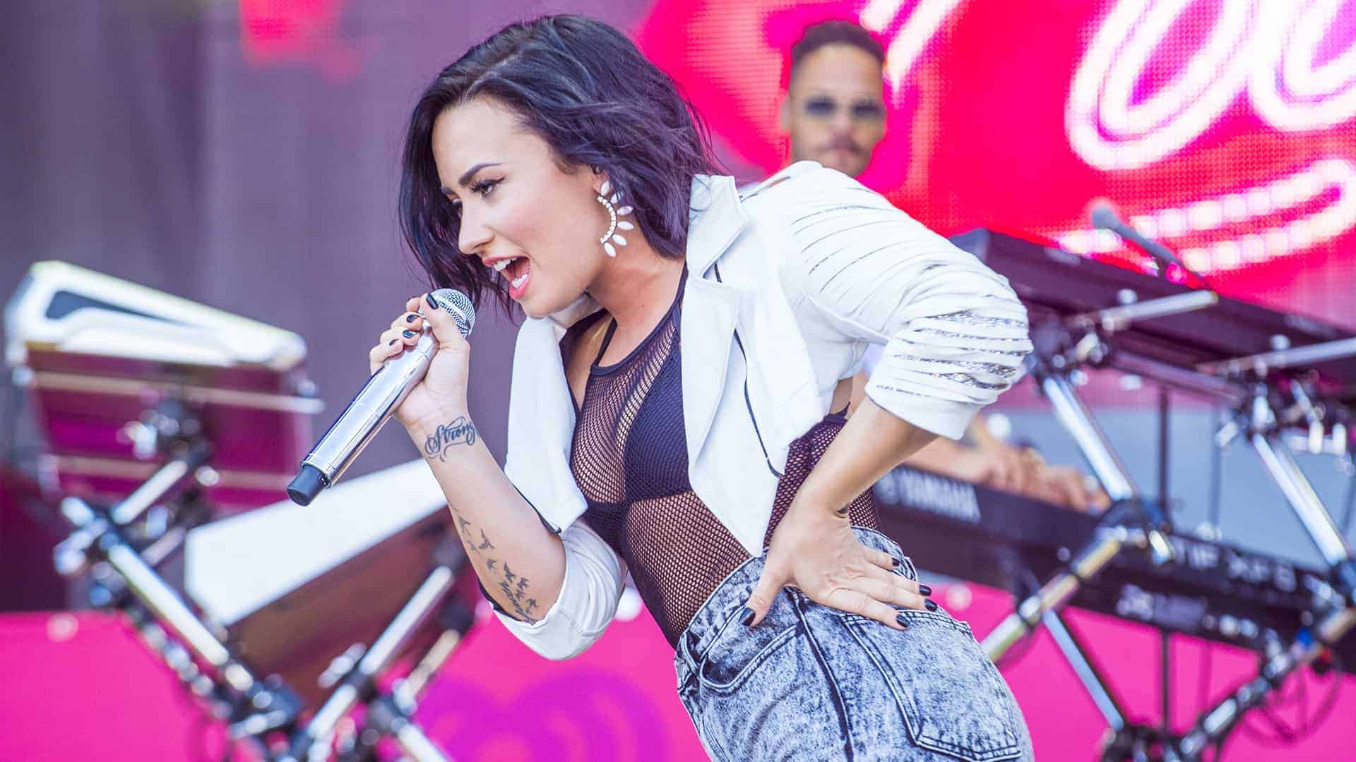 Demi Lovato has never been shy about her struggles with drug and alcohol addiction.