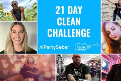 Recovery Unplugged Drug Rehab 21 Day Clean Challenge