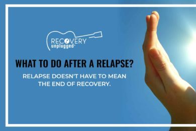 What to Do After A Relapse